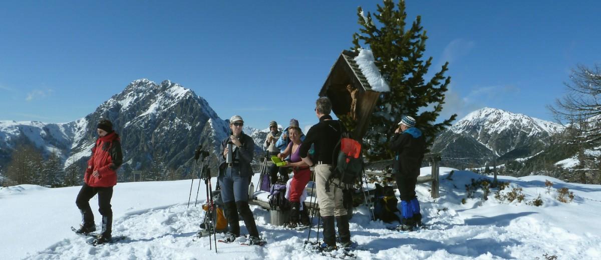 083f8ad38b06ba Schneeschuhwandern in den Bergsteigerdörfern