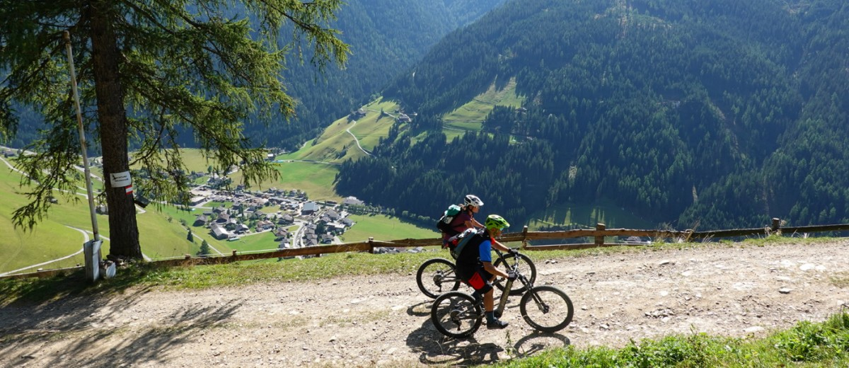 Mountainbiken im Villgratental