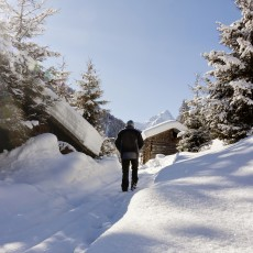 Winterwandern in Gries
