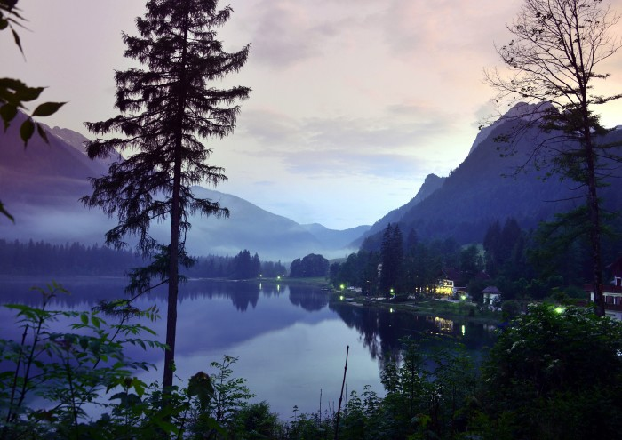 Hintersee abends