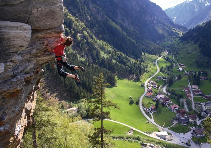 Klettersteig Nasenwand : Klettersteige im bergsteigerdorf ginzling