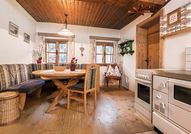 Bauerndörfl Rindereben in Hüttschlag, Ferienwohnungen im Bio-Blockhaus