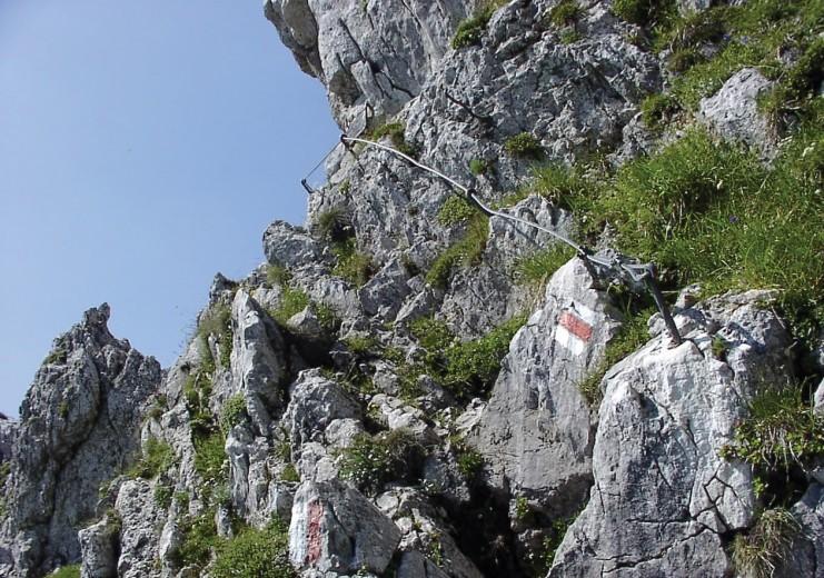 Klettersteig Johnsbach : Klettersteige auf die rax