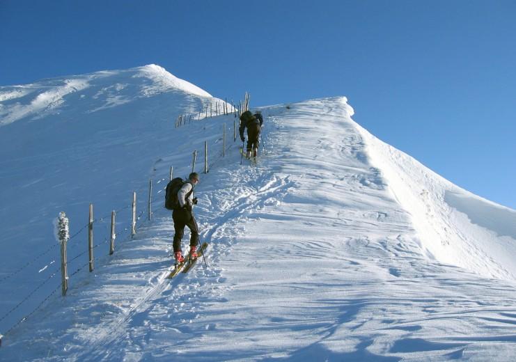 Klettergurt Skitouren : St. jodok schmirn vals skitouren
