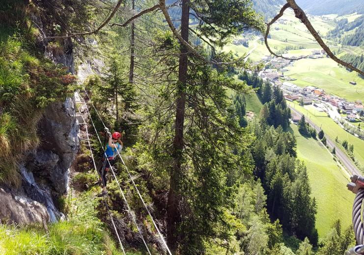 St Jodok Klettersteig : St. jodok schmirn vals klettern