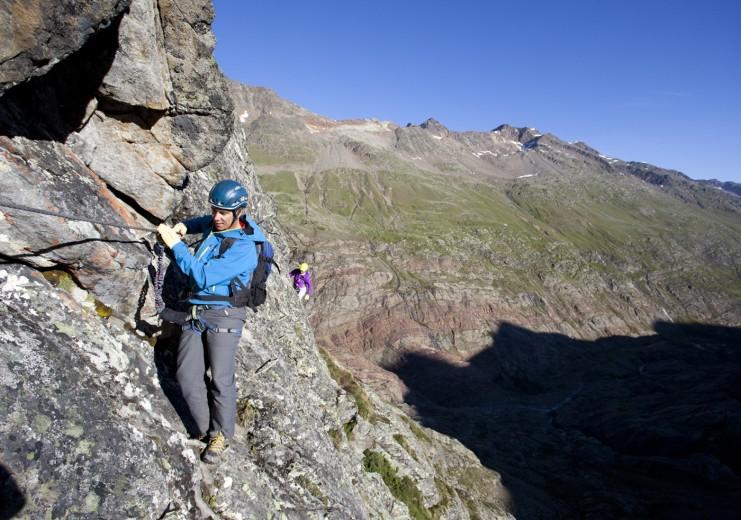Klettersteig Oetztal : Vent im Ötztal klettersteige