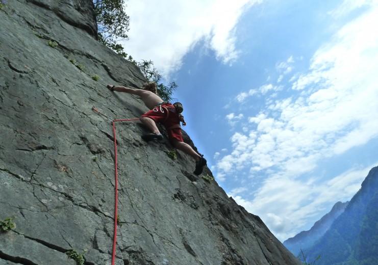 Klettersteig Zahme Gams : Weißbach klettersteige