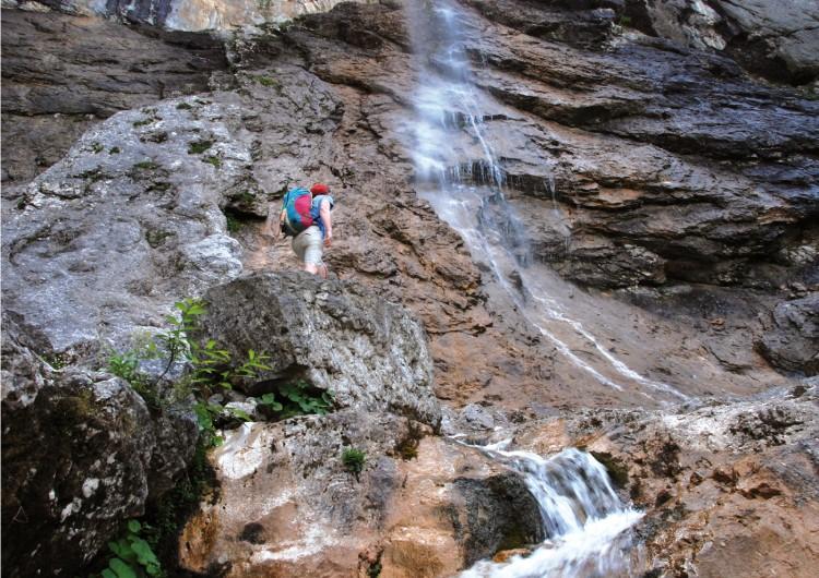Klettersteig Johnsbach : Johnsbach klettersteige